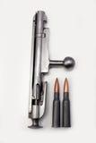 Acción del tornillo de Mosin-Nagant con los shelles (2) Imagen de archivo libre de regalías
