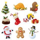 Acclamation de Noël Images libres de droits
