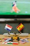 Acclamations de Mur-e pour le finale de la Coupe du monde photo libre de droits