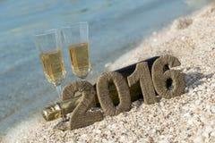Acclamazioni al nuovo anno Immagini Stock Libere da Diritti