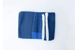 Accolades de genou de tissu Photo libre de droits