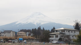 Accommodation at the Mount Fuji Stock Photography