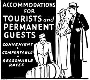 Accommodations For Tourists Royalty Free Stock Images