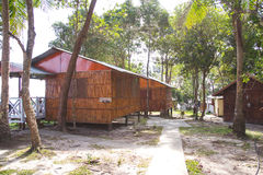Accomodation at Tips of Borneo, Sabah Malaysia Stock Photos