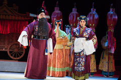 "Accompany bride to bridegroom's family-The emperor's wedding-Jiangxi opera ""Red pearl"" Stock Photos"
