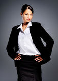 Accomplished businesswoman Stock Image