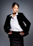 Accomplished businesswoman Stock Image
