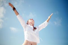Accomplished Woman Stock Images