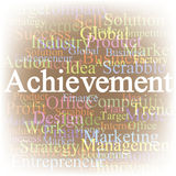 Accomplissement Images stock