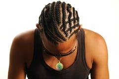 Acconciatura africana Fotografia Stock Libera da Diritti