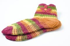 Accoppiamenti dei calzini Fotografia Stock Libera da Diritti