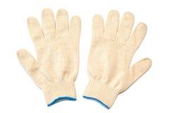 Accoppiamenti dei guanti protettivi Fotografia Stock Libera da Diritti