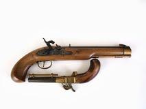 Accoppiamenti della pistola della polvere nera Immagine Stock