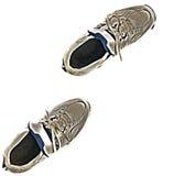 Accoppiamenti della scarpa da tennis Fotografia Stock Libera da Diritti