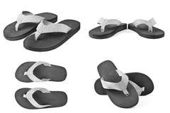 Accoppiamenti delle cadute di vibrazione nere isolate su bianco Fotografia Stock