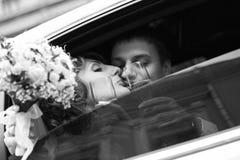 Accoppiamenti recentemente sposati Immagine Stock