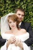Accoppiamenti recentemente sposati Immagine Stock Libera da Diritti