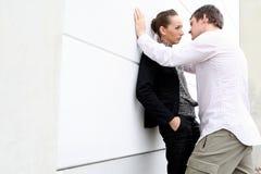 Accoppiamenti romantici Fotografie Stock Libere da Diritti