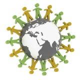 Accord d'associé du monde Image libre de droits