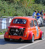 Accord de Fiat 500 dans la course de Scala Piccada Photos stock