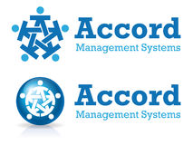 Accord logo. A logo that can be used for company branding Royalty Free Stock Photos