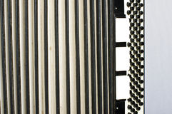 Accordion abstract horizontal Royalty Free Stock Image