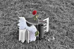 Accordion of Angels Royalty Free Stock Photography