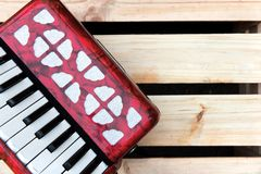 Accordion background concept Royalty Free Stock Image