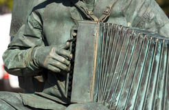Accordion - RAW format Royalty Free Stock Photo