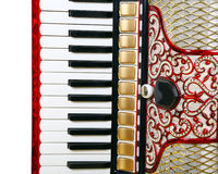 Accordion fragment Royalty Free Stock Image
