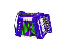 Accordion isolated Royalty Free Stock Photo