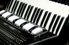 Accordion, musical instrument Stock Images