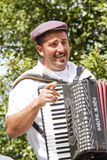 Accordion player Stock Photos