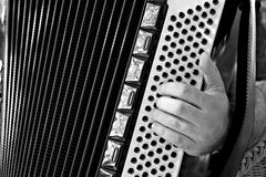 The accordion Royalty Free Stock Photography