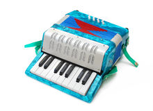 Accordion Toy Stock Image