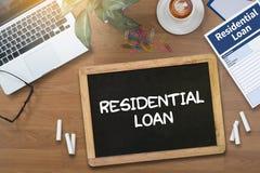Accordo di acquisto residenziale di prestito al lo vivente di ipoteca della proprietà Immagini Stock