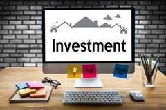 Accordo di acquisto residenziale di prestito di investimento della proprietà a Livin Fotografia Stock