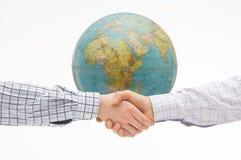 accordo globale Fotografia Stock