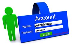 Account icon Stock Photo