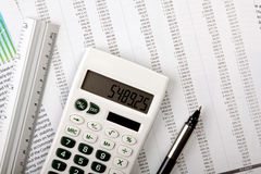 Account Statement Stock Photography