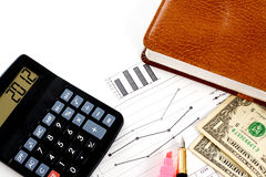 Account statements Stock Photography