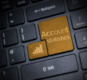 Account Statistic Stock Photography