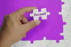 Account Text - Business Concept Stock Photo