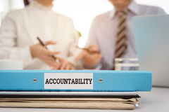 Accountability Stock Image