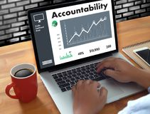 Accountability Savings Account Money Global Finance  calculate t Stock Image