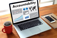 Accountability Savings Account Money Global Finance  calculate t Stock Photo