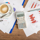Accountancy concept Royalty Free Stock Photo