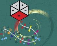 Accountancy kite. Abstract vector illustration Royalty Free Stock Photography