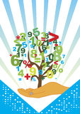 Accountancy tree Royalty Free Stock Image