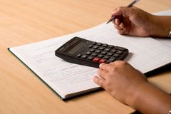 Accountant Book Keeper Royalty Free Stock Photos